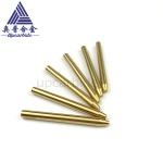 1.02*7.14*76.2mm gold coated tungsten carbide waterjet spray nozzles